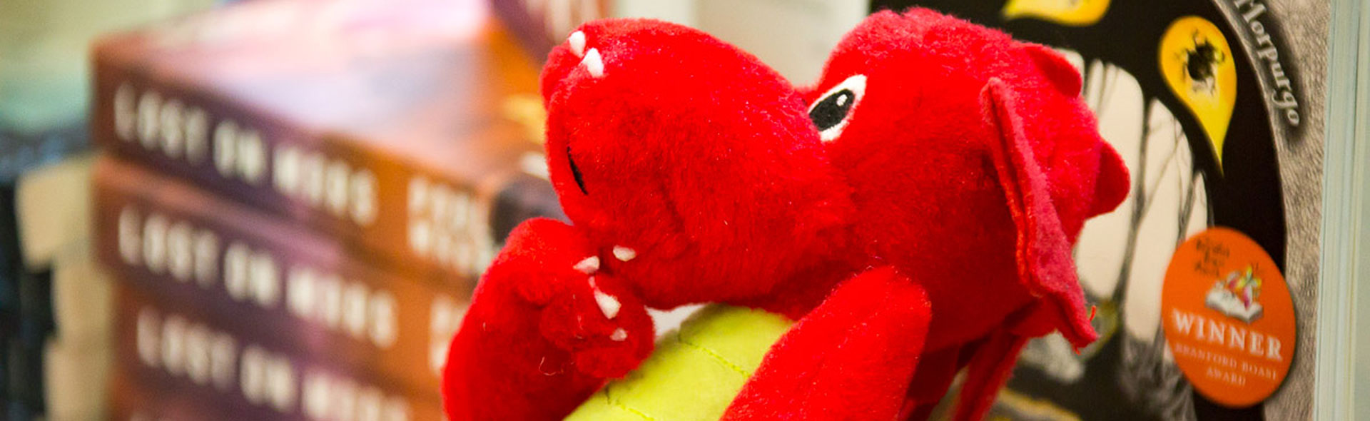 Dragon stuffed toy